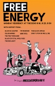 Free Energy - Echo Residency Poster - color